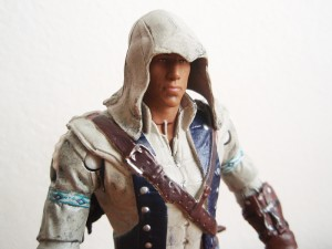 Connor action figure closeup