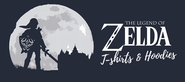 6+6 Legend of Zelda T-Shirts and Hoodies