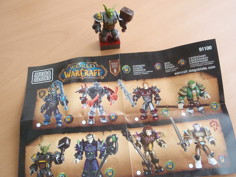 World of Warcraft mystery figure