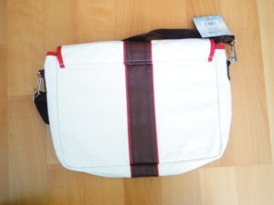 Assassin's Creed messenger bag back