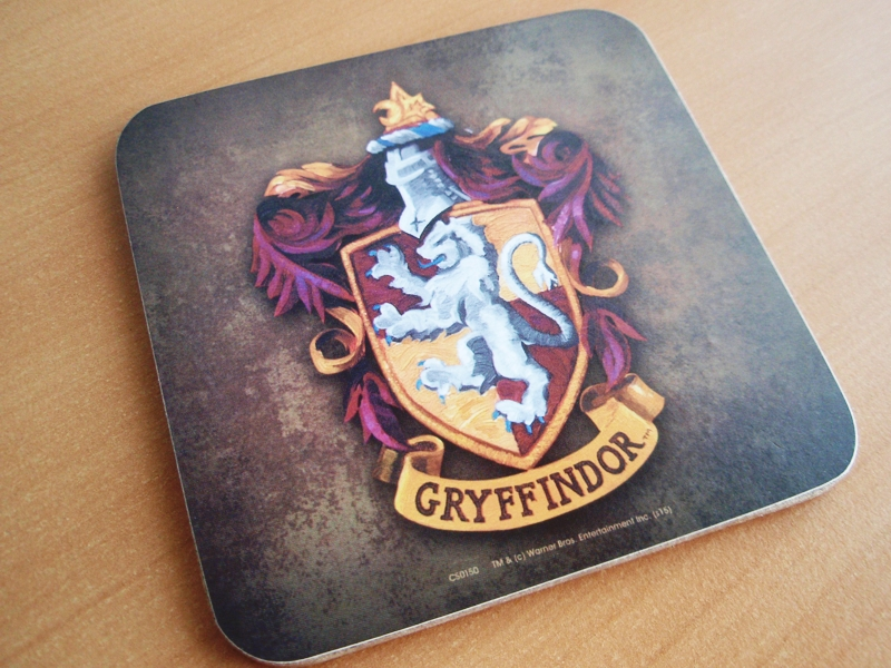 Harry Potter Gryffindor coaster