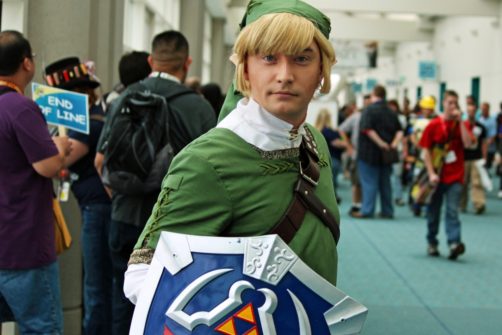 Link cosplay - photo by Ryan Quick @ Flickr