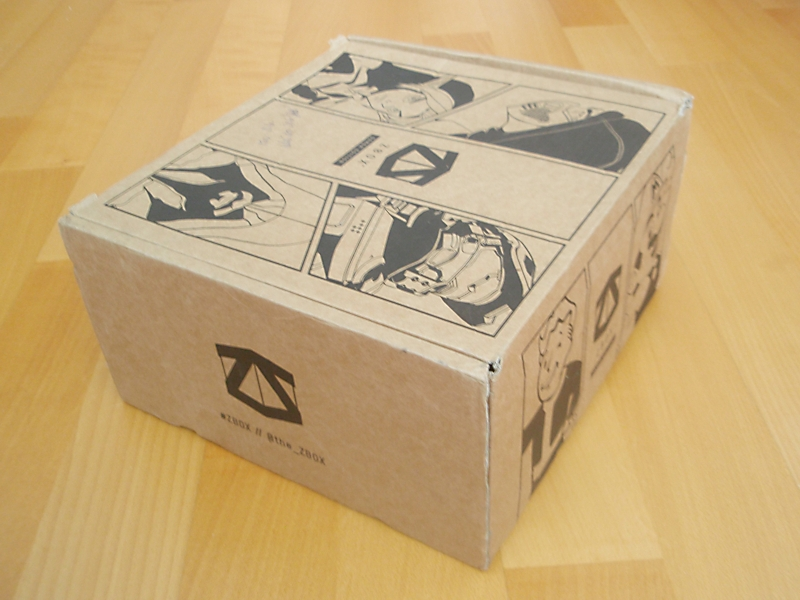 Zbox Gamer Edition box