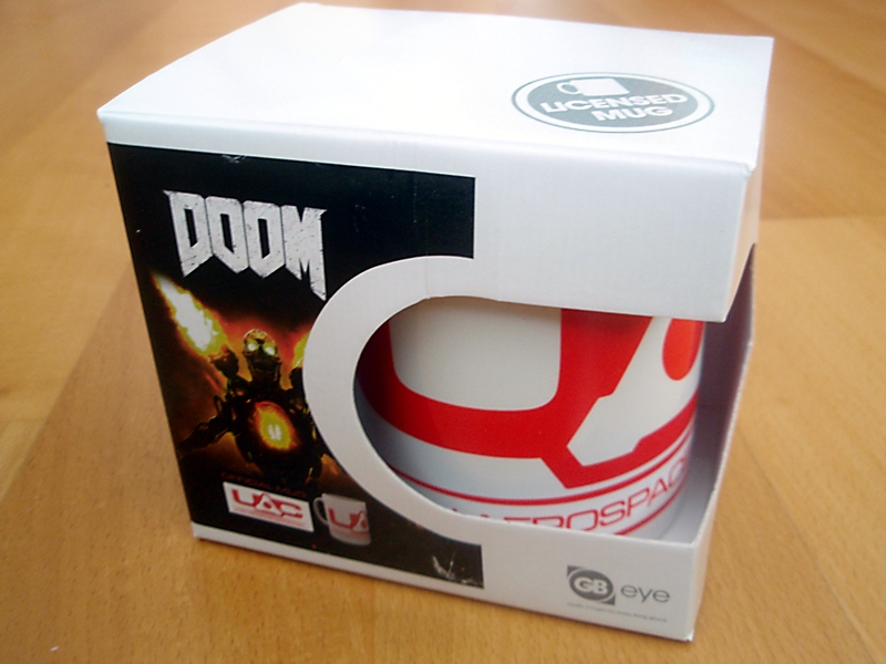 Zbox Gamer edition Doom mug