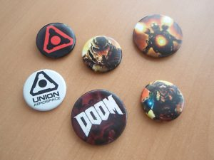 Zbox Gamer edition Doom buttons