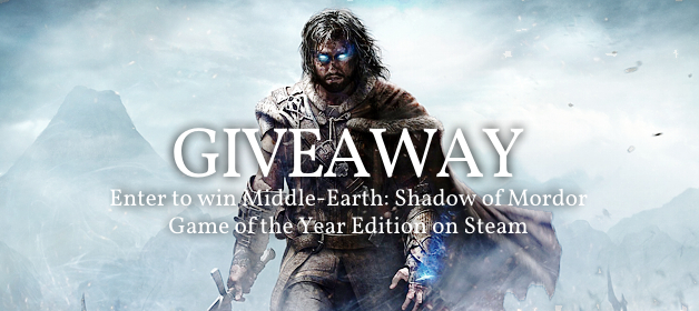 Shadow of Mordor Giveaway