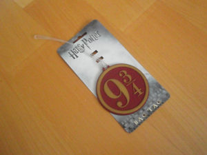 My Geek Box Lite - December 2016 - Harry Potter Bag Tag