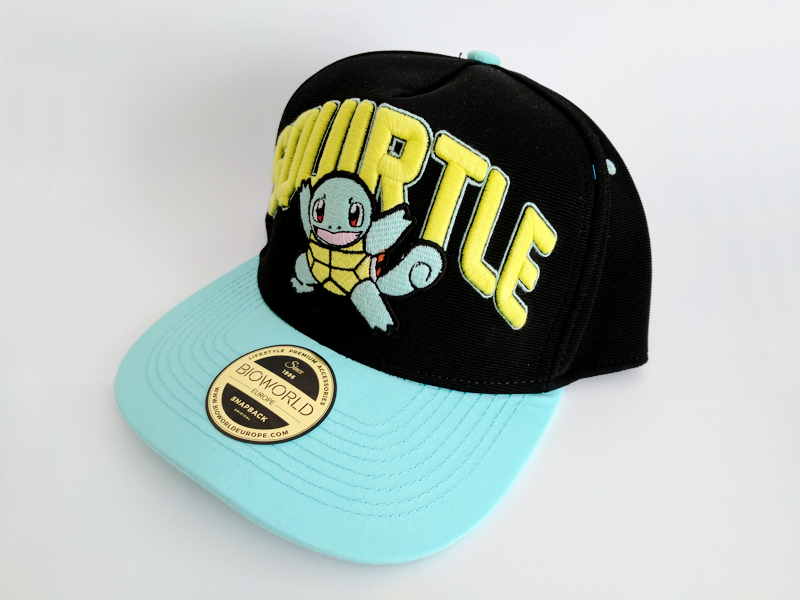 Squirtle snapback hat