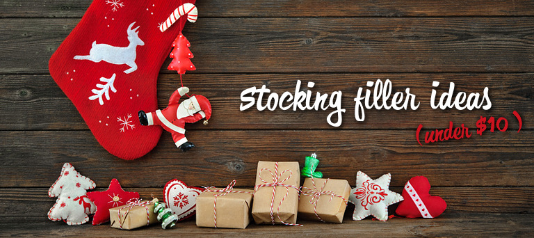 Christmas stocking filler ideas (under $10)