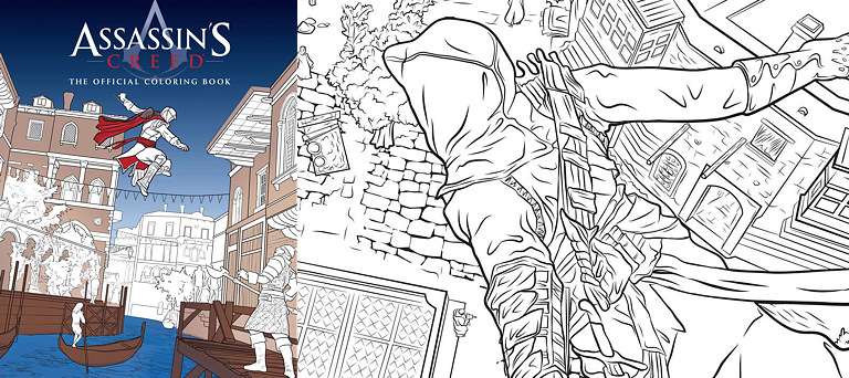 Coloring Book - Assassin's Creed