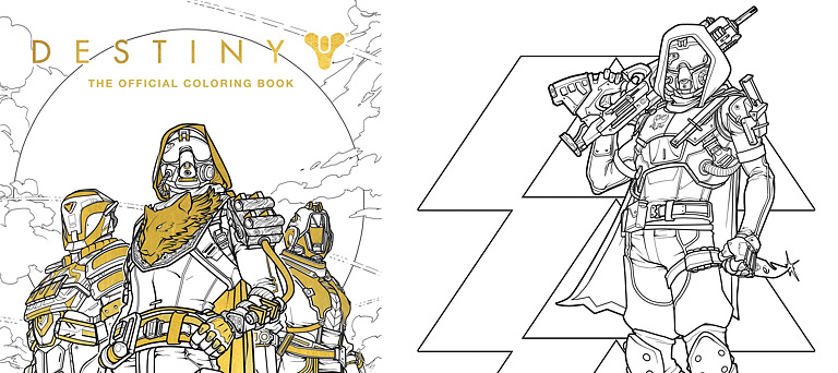 Coloring Book - Destiny