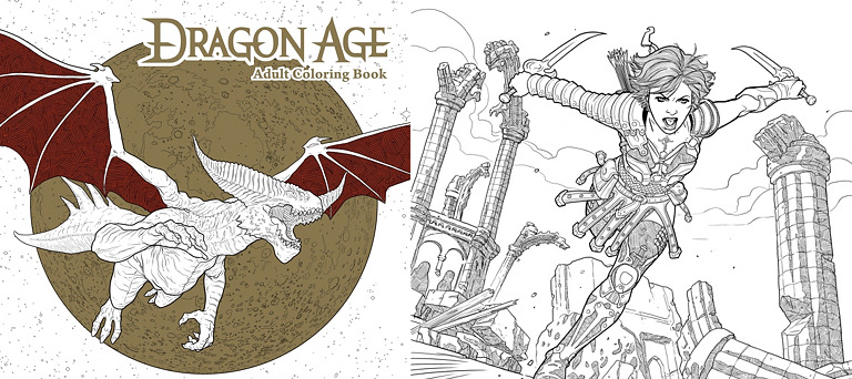 Coloring book - Dragon Age