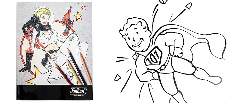 Coloring book - Fallout