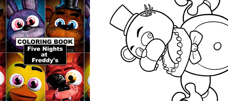 Coloring book - Five Nights At Freddy's