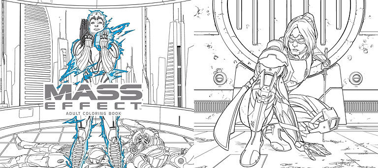 Coloring book - Mass Effect