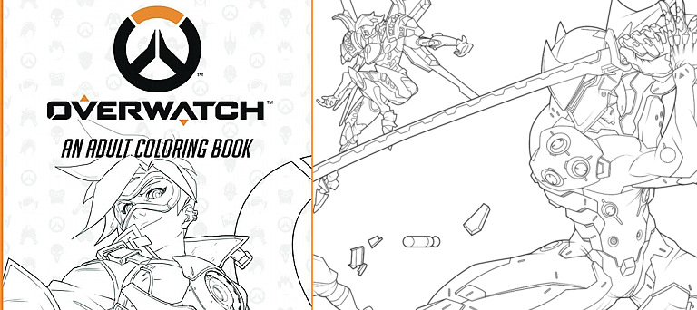 Coloring book - Overwatch