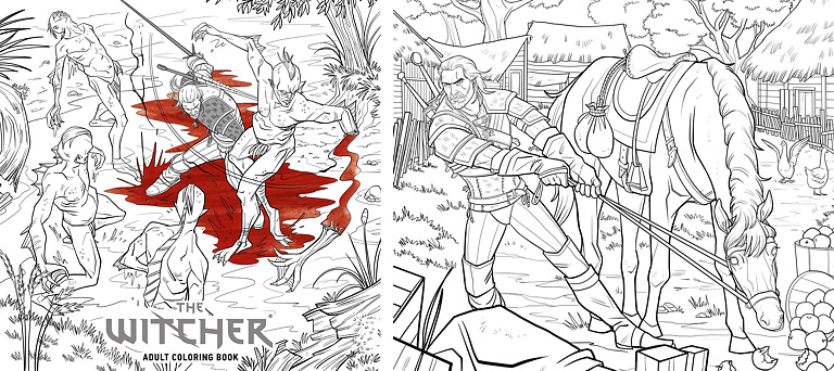 Coloring Book - Witcher