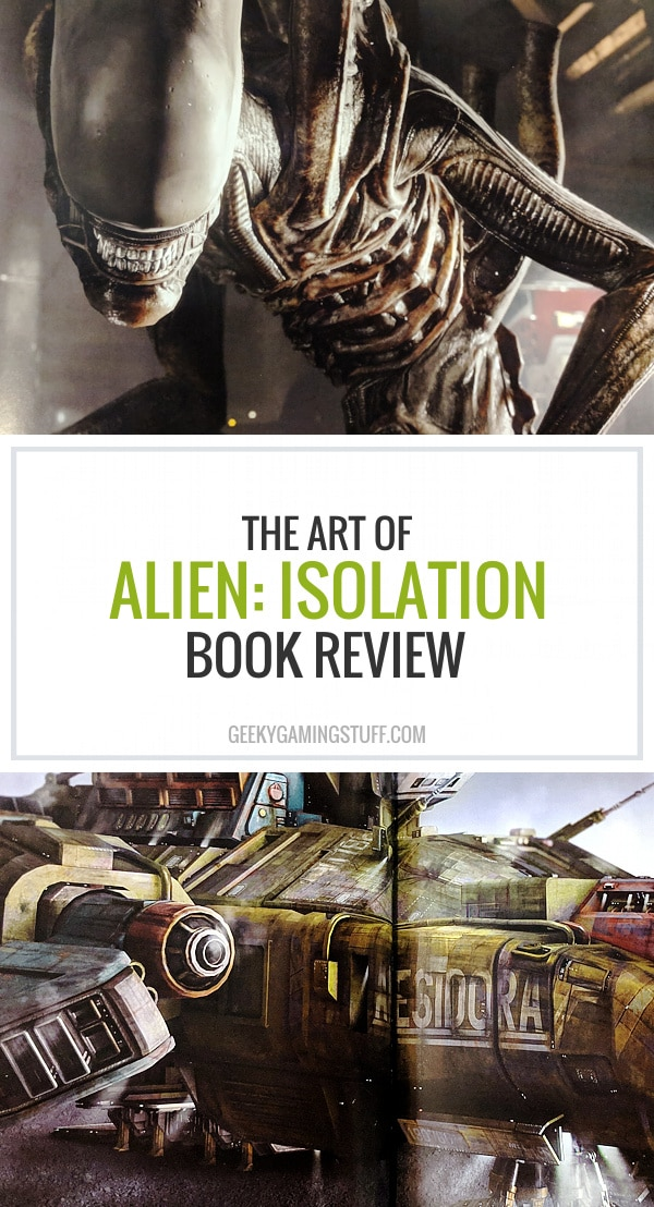 I got The Art of Alien: Isolation book for Christmas, a beautiful book packed with concept art, interesting facts from production, Xenomorph design, spaceship design like Nostromo, Anesidora or Torrens and more. The game fits seamlessly into the Alien movie franchise, which I love!