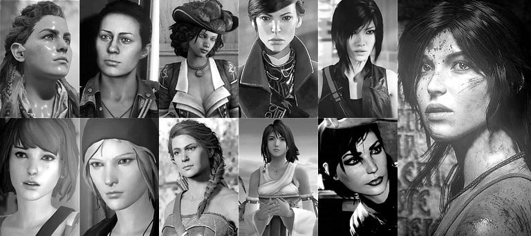 Who Are The Most Popular Female Protagonists in Video Games?