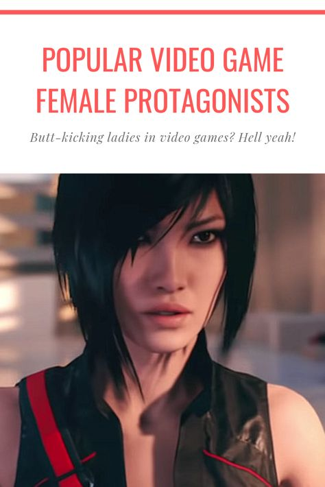 Popular female protagonists in video games
